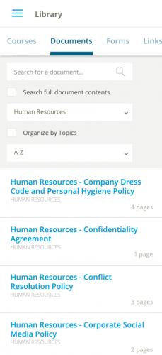 HR Screenshot